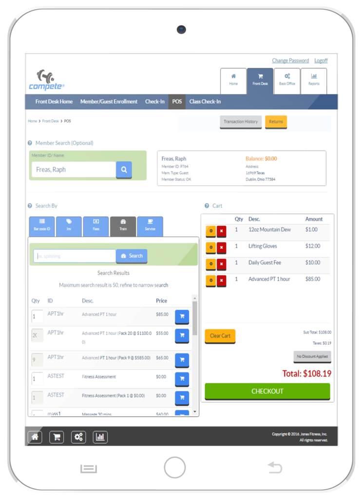 Gym Management Software - Jonas Fitness - Gyms & Fitness Clubs